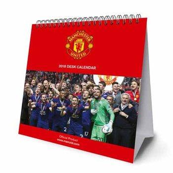 Calendário 2018 Desk Easel 2018 Calendar - Manchester United