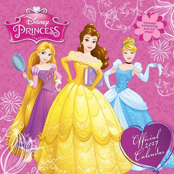 Calendário 2017 Disney - Princess