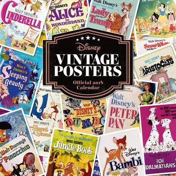 Calendário 2018 Disney Vintage