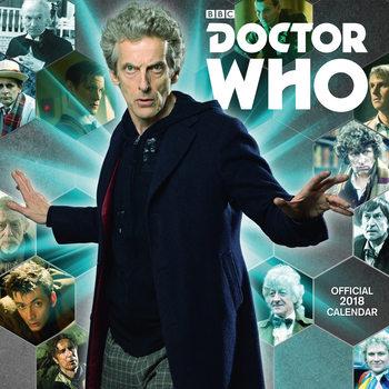 Calendário 2018 Doctor Who Classic Edition