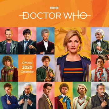 Calendário 2020  Doctor Who - Classic Edition