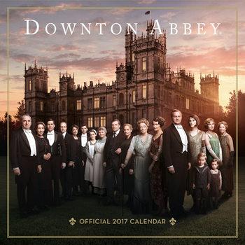 Calendário 2017 Downtown Abbey