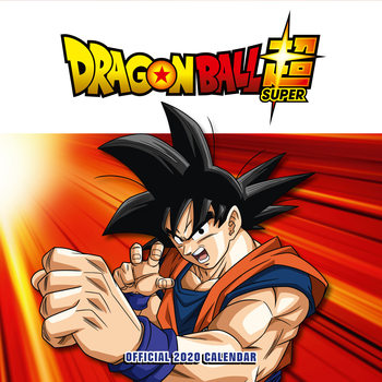 Calendário 2020  Dragon Ball Z