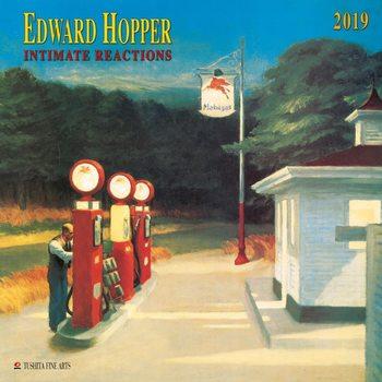 Calendário 2019  E. Hopper- Intimate Reactions