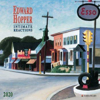 Calendário 2020  E. Hopper- Intimate Reactions