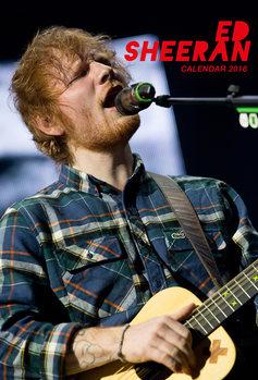 Calendário 2018  Ed Sheeran