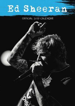 Calendário 2019  Ed Sheeran