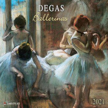 Calendário 2021 Edgar Degas - Ballerinas
