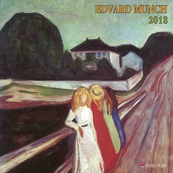 Calendário 2019  Edvard Munch