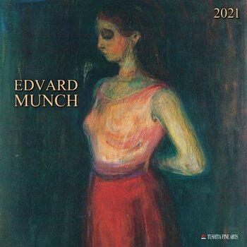Calendário 2021 Edvard Munch