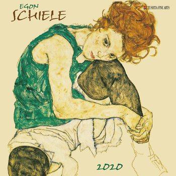 Calendário 2020  Egon Schiele