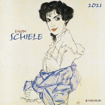 Calendário 2021 Egon Schiele