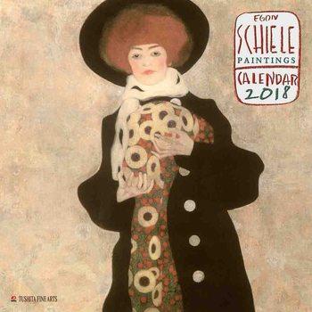 Calendário 2018 Egon Schiele - Paintings