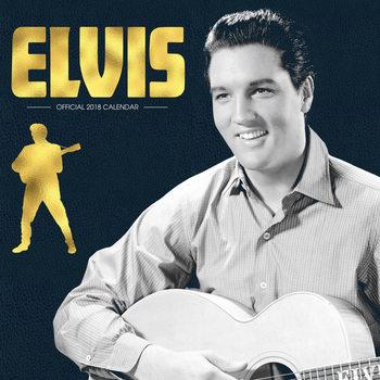 Calendário 2018 Elvis