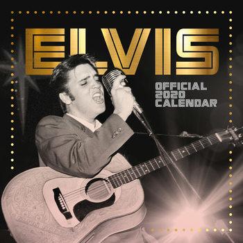 Calendário 2020  Elvis