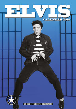 Calendário 2019  Elvis Presley