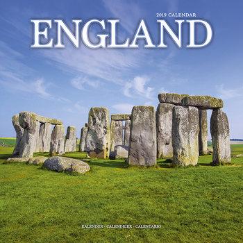 Calendário 2019  England
