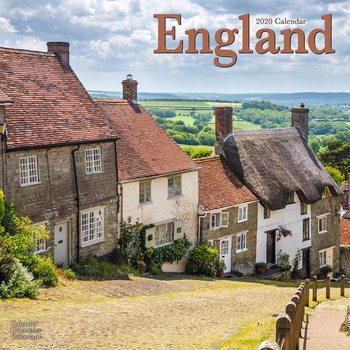 Calendário 2020  England