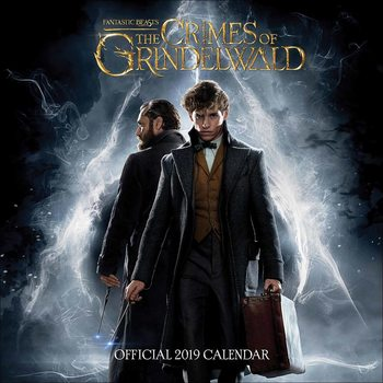 Calendário 2019  Fantastic Beasts: The Crimes Of Grindelwald
