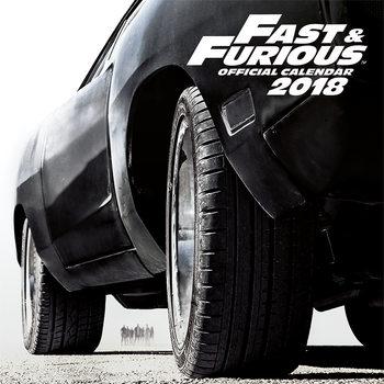Calendário 2018 Fast And Furious