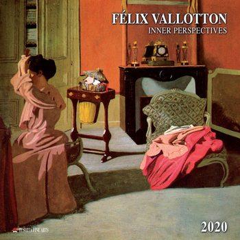 Calendário 2020  Felix Vallotton