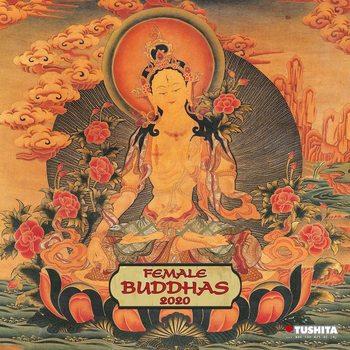 Calendário 2020  Female Buddhas