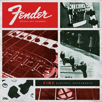 Calendário 2017 Fender