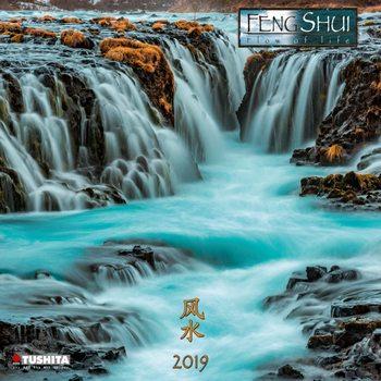 Calendário 2019  Feng Shui Flow of Life