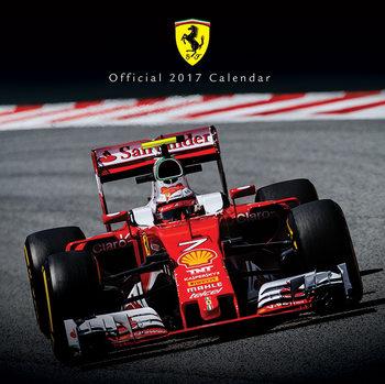 Calendário 2017 Ferrari F1 2017