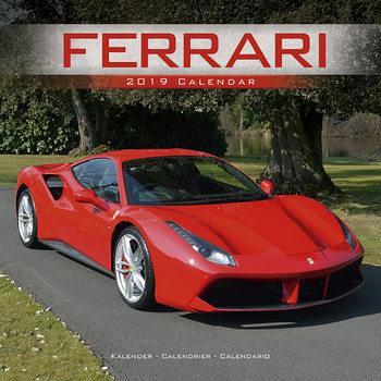 Calendário 2019  Ferrari