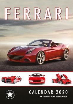Calendário 2020  Ferrari