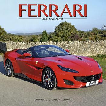 Calendário 2021 Ferrari