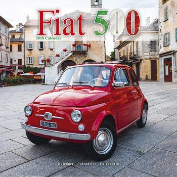 Calendário 2018 Fiat 500