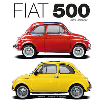 Calendário 2019  Fiat 500