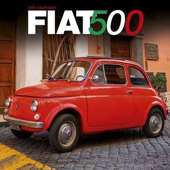 Calendário 2021 Fiat 500