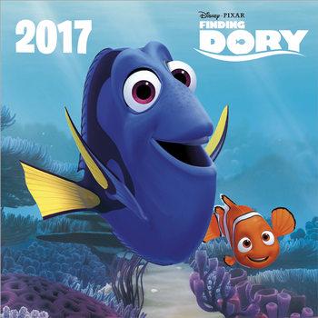 Calendário 2017 Finding Dory