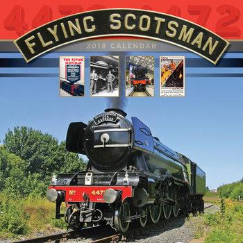 Calendário 2018 Flying Scotsman