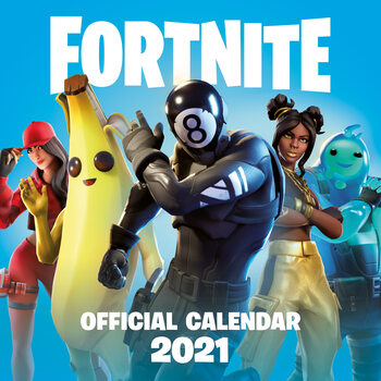 Calendário 2021 Fortnite