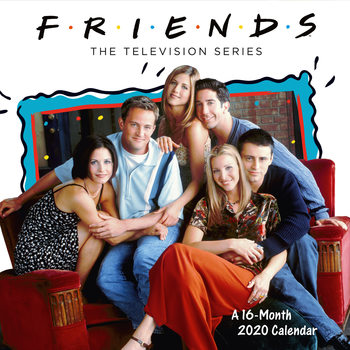 Calendário 2020  Friends