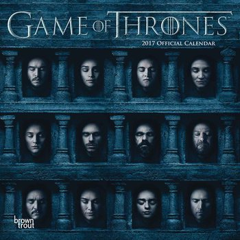 Calendário 2017 Game of Thrones