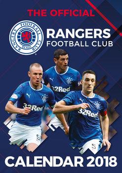 Calendário 2018 Glasgow Rangers