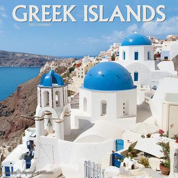 Calendário 2021 Greek Islands