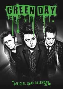 Calendário 2019  Green Day