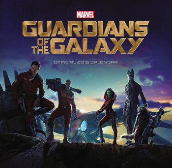 Calendário Guardians Of The Galaxy
