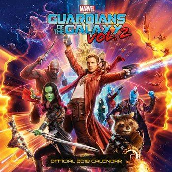 Calendário 2018 Guardians Of The Galaxy