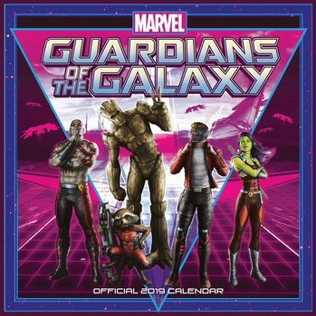 Calendário 2019  Guardians Of The Galaxy