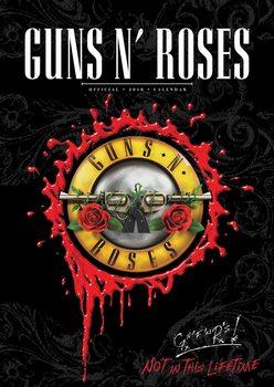 Calendário 2018 Guns N' Roses
