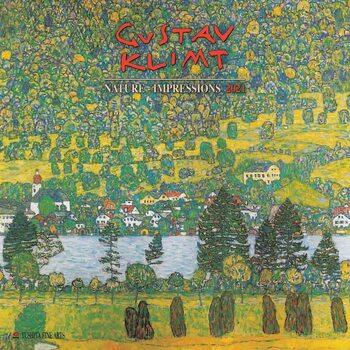 Calendário 2021 Gustav Klimt - Nature