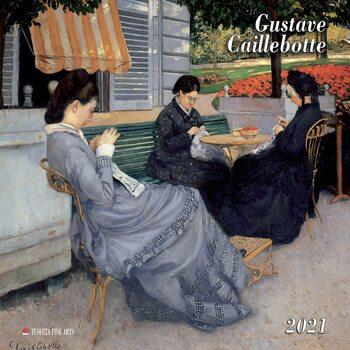 Calendário 2021 Gustave Caillebotte