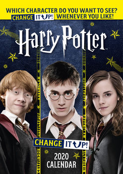 Calendário 2020  Harry Potter - Change It Up
